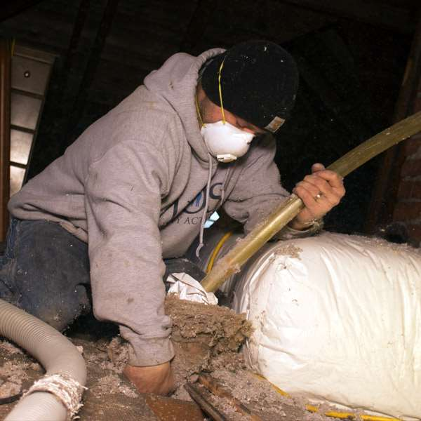 Insulation & Weatherization in action