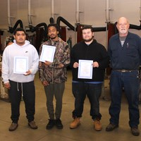 GLCAP youth earn welding certificates